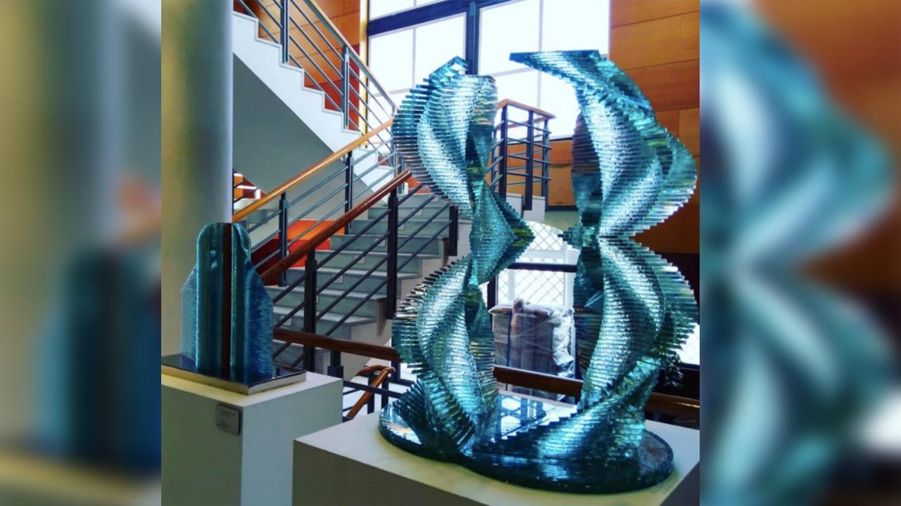 El Castillo de Valderas acoge el aniversario del Museo del Vidrio