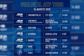 El torneo se disputará del 12 al 20 de septiembre