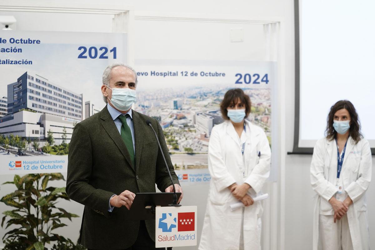 El proyecto incluye la reforma de las infraestructuras de Oncología Médica y Oncología Radioterápica