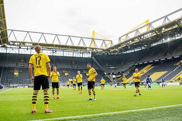 El balón vuelve a rodar en Alemania dentro de la llamada nueva normalidad