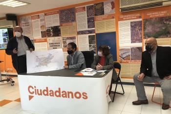 Lezcano presenta las sugerencias del partido naranja al Plan General de Ordenación Urbana