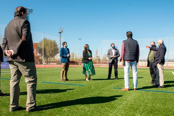 El Olímpico Pozuelo Rugby ya conoce el nuevo césped del Valle de las Cañas