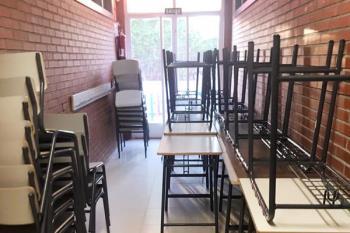 El consistorio ha cedido este espacio para desalojar aulas en los centros