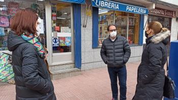 La líder popular ha recorrido las calles de la ciudad para conocer las necesidades de los alcalaínos