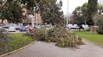 Los populares lamentan la dejadez del equipo de Gobierno para que los barrios recuperen la normalidad