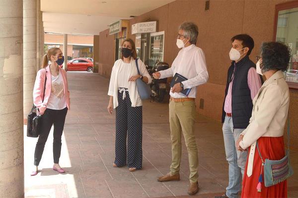 Los populares continúan con sus visitas a los comercios de la ciudad para conocer sus necesidades a medida que avanza el plan de desescalada