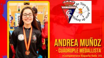 La joven del Club Tiro con arco de Aranjuez hará el saque de honor ante el CD Paracuellos este domingo 15 de mayo