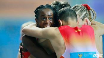 El cuarteto español se metió en la final del Mundial de relevos Silesia 2021, logrando el billete a Tokio