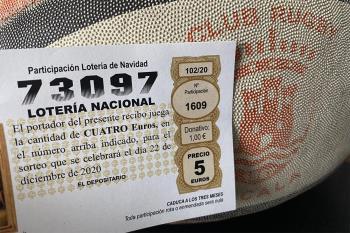La lotería navideña volvió a caer en un club deportivo de Alcalá de Henares
