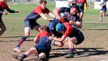 El equipo de Pablo Arévalo y Gerard Godoy se llevó la victoria contra el Marbella Rugby Club