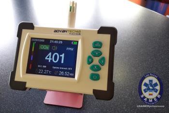 El instrumento ayuda a medir la calidad del aire