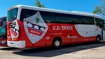 A los aficionados que compren la entrada contra el Algeciras, el Ayuntamiento y el club les facilitarán el trayecto hasta Extremadura para apoyar al equipo