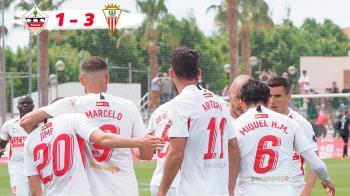 El conjunto sansero no pudo superar al Algeciras en los playoffs de ascenso