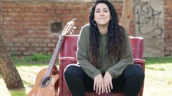 Cantautora afincada en Madrid, presenta su disco