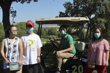 En esta cuarta edición celebrada en el Complejo Deportivo del RACE han participado 200 golfistas