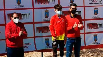 Es líder de la Copa de España en la categoría de 7-8 años