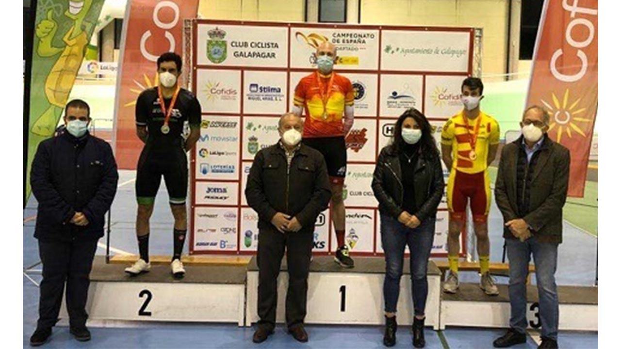 También hay que destacar la medalla de bronce de Christian Silva en la prueba de velocidad por equipos