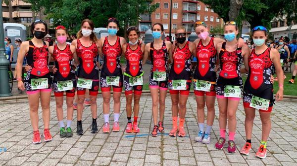 El Tri Infinity de Móstoles participó en el Campeonato de España de Duatlón