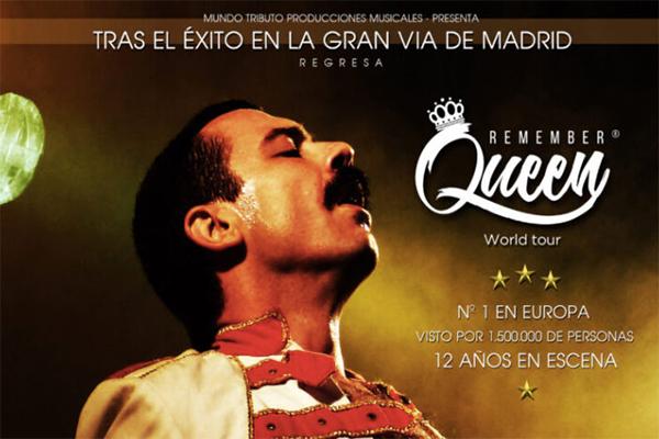 'Remember Queen', espectáculo organizado por el área de Festejos