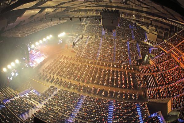 La instalación madrileña acogerá varias competiciones deportivas