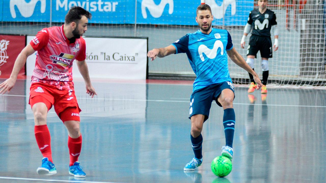 Movistar Inter cayó ante el conjunto murciano por la mínima (3-4)