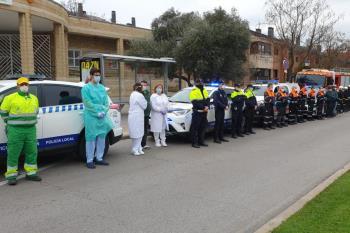 Con motivo del comienzo del luto oficial declarado por la Comunidad de Madrid