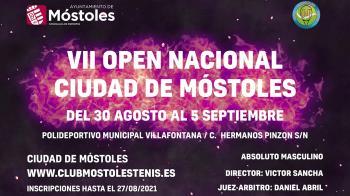 El torneo de tenis se disputará del 30 de agosto al 5 de septiembre
