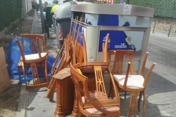 Trabajadores municipales de Moraleja recogieron dos tandas de residuos en un mismo día