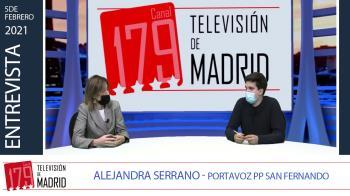 Entrevistamos a la portavoz del PP en San Fernando de Henares Alejandra Serrano