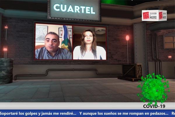 """Javier Corpa: """"Los peores momentos que ha vivido este alcalde han sido porque hemos visto dramas en las residencias"""""""