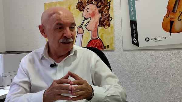"""Entrevista a Juan Casado, médico pediatra del Niño Jesús: """"Las situaciones catastróficas hacen que lo bueno del ser humano, y lo malo, salgan"""""""