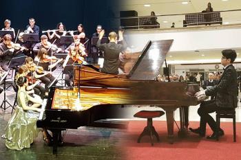 Los hermanos Navas han ganado los dos únicos concursos presenciales de piano tras el confinamiento