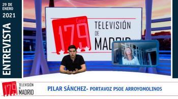 Entrevistamos a la portavoz del PSOE en Arroyomolinos Pilar Sánchez
