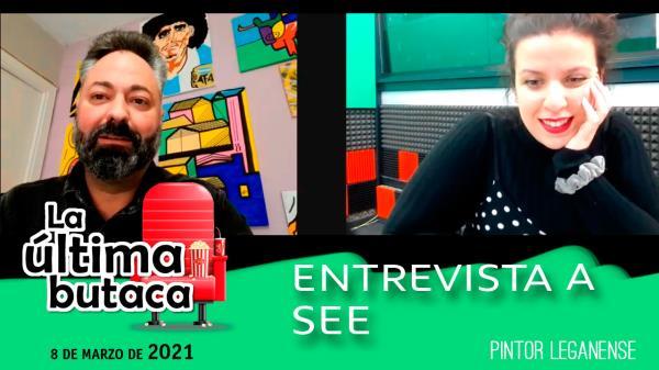 Entrevista a SEE, artista leganense que inaugura exposición en el Rigoberta Menchú