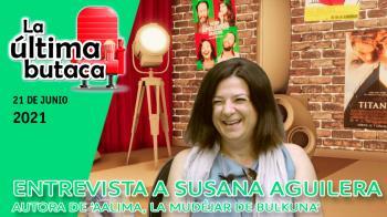 Susana Aguilera visitó nuestros estudios para hablar de su nueva novela