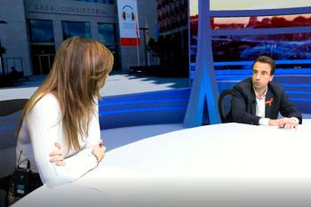 El portavoz del PP, Miguel Ángel Recuenco, habla sobre la disolución de LG Medios y la supuesta colocación de sus trabajadores