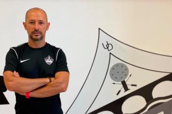 Hablamos con el nuevo entrenador de la U.D. San Sebastián de los Reyes, Marcos Jiménez