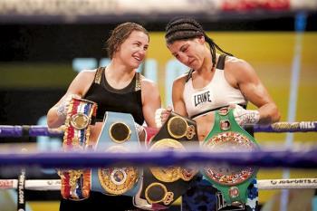 Tras caer ante Katie Taylor en la lucha por los cuatro cinturones mundiales, Miriam Gutiérrez ya piensa en sus próximos retos