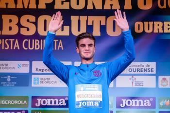 El atleta Pablo Sánchez Valladares rememora la consecución de su oro en los 800 metros del Campeonato de España