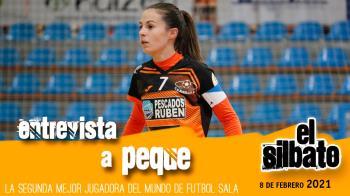 Celebramos con Patricia González -más conocida como 'Peque'- su nombramiento como segunda mejor jugadora del mundo de fútbol sala