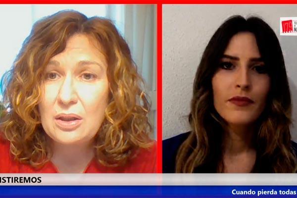 """Natalia de Andrés :""""Estamos preocupados"""", """"la gran preocupación de Alcorcón es por nuestras residencias, por nuestros mayores"""""""