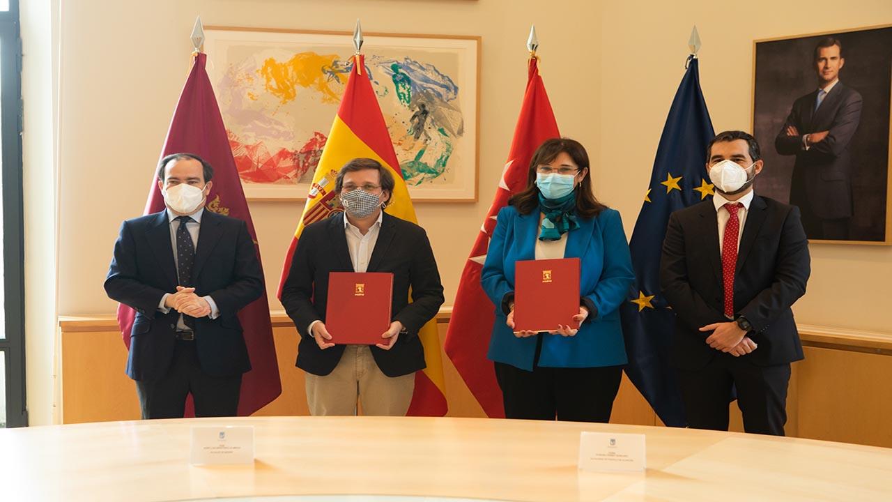El convenio entre Pérez Quislant y Almeida hará que desaparezca la depuradora de Húmera