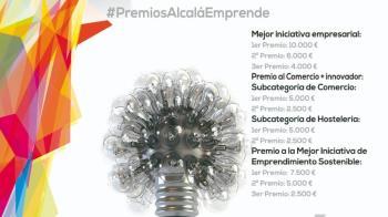 ¡Ya está aquí la VIII edición de los Premios Alcalá Emprende!