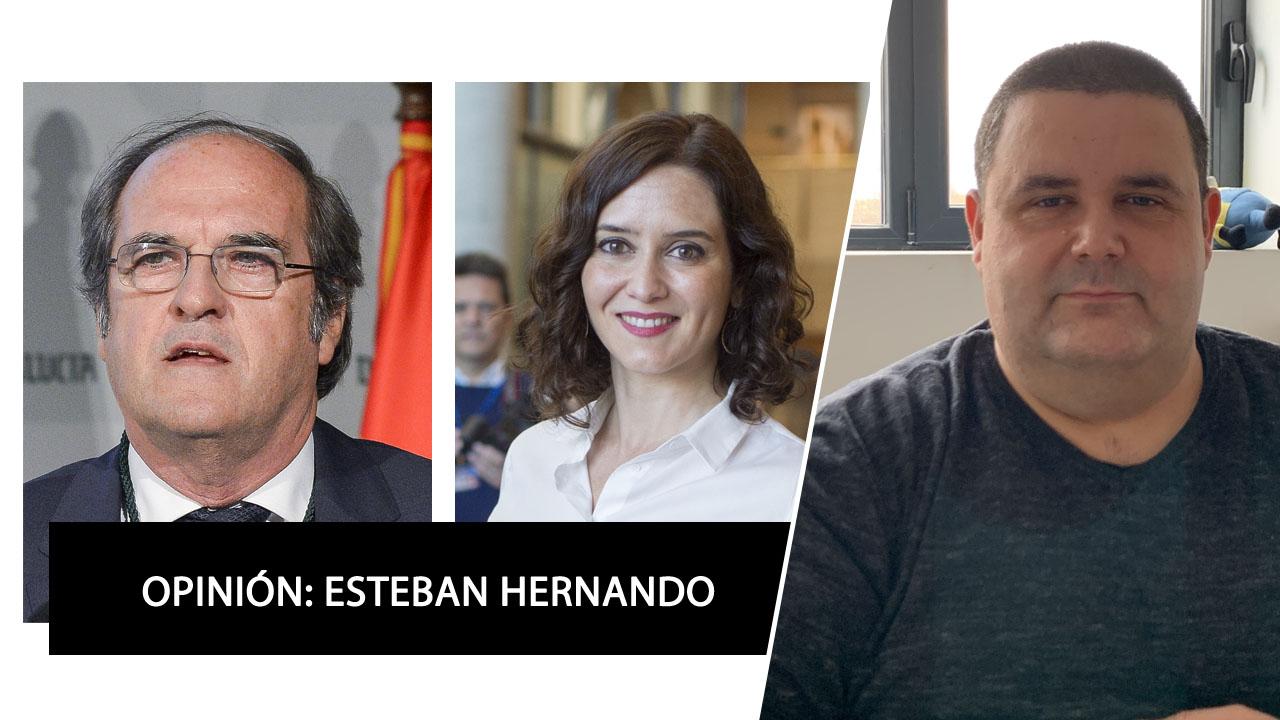 Carta abierta a Isabel Díaz Ayuso y Ángel Gabilondo, por Esteban Hernando, director de Soy-de.