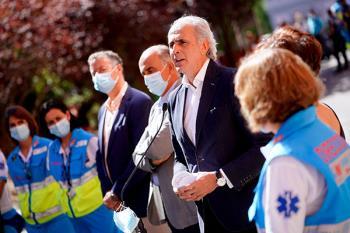 El Consejero de Sanidad, Enrique Ruiz Escudero, habla sobre la situación epidemiológica de la Comunidad