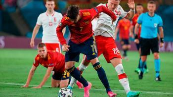 La Selección española se midió ante Polonia y quedó en tablas