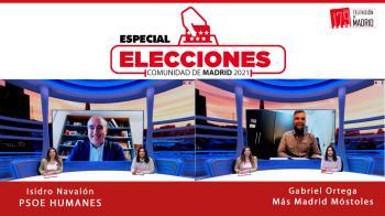 Hoy conectamos con el Isidro Navalón (PSOE Humanes) y Gabriel Ortega (Más Madrid-Ganar Móstoles)
