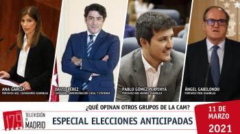 Tras la convocatoria de elecciones por parte de Isabel Díaz Ayuso, hablamos del futuro de Madrid acompañadas de representantes de otras fuerzas políticas
