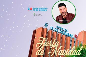 Se emitirá online desde el hospital 12 de Octubre de Madrid y será presentada por Tony Aguilar