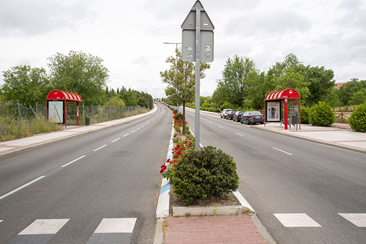 Desde el 15 de mayo serán 4 km: las avenidas Retamar y Navalcarbón, en sentido ascendente y la av. de España en sentido descendente